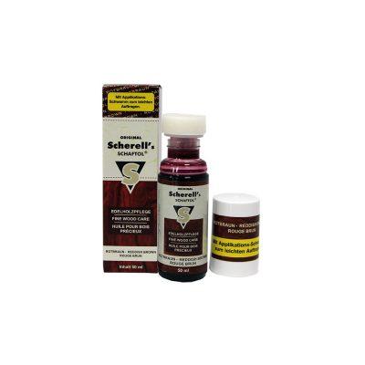 Scherell's Olio per Calci marrone rossiccio- Flacone 50 ml