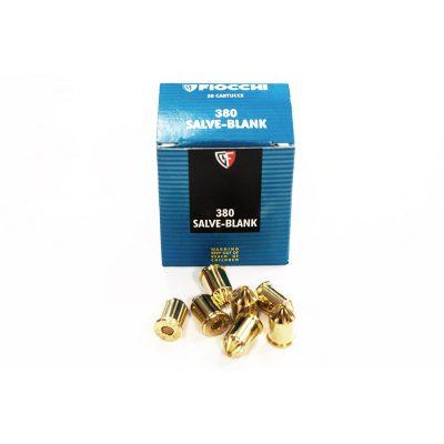 CARICHE A SALVE FIOCCHICal.380 MM 50 PZ- Colpi per pistole a salve