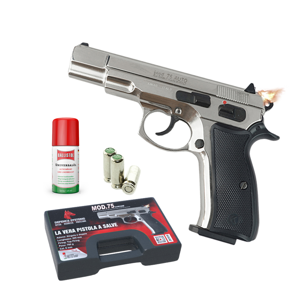 430.002 75 Pistol Chrome
