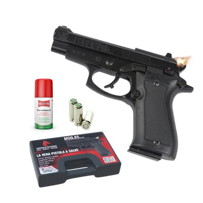 420.000-Pistola a salve85 Pistol 8 mm Black